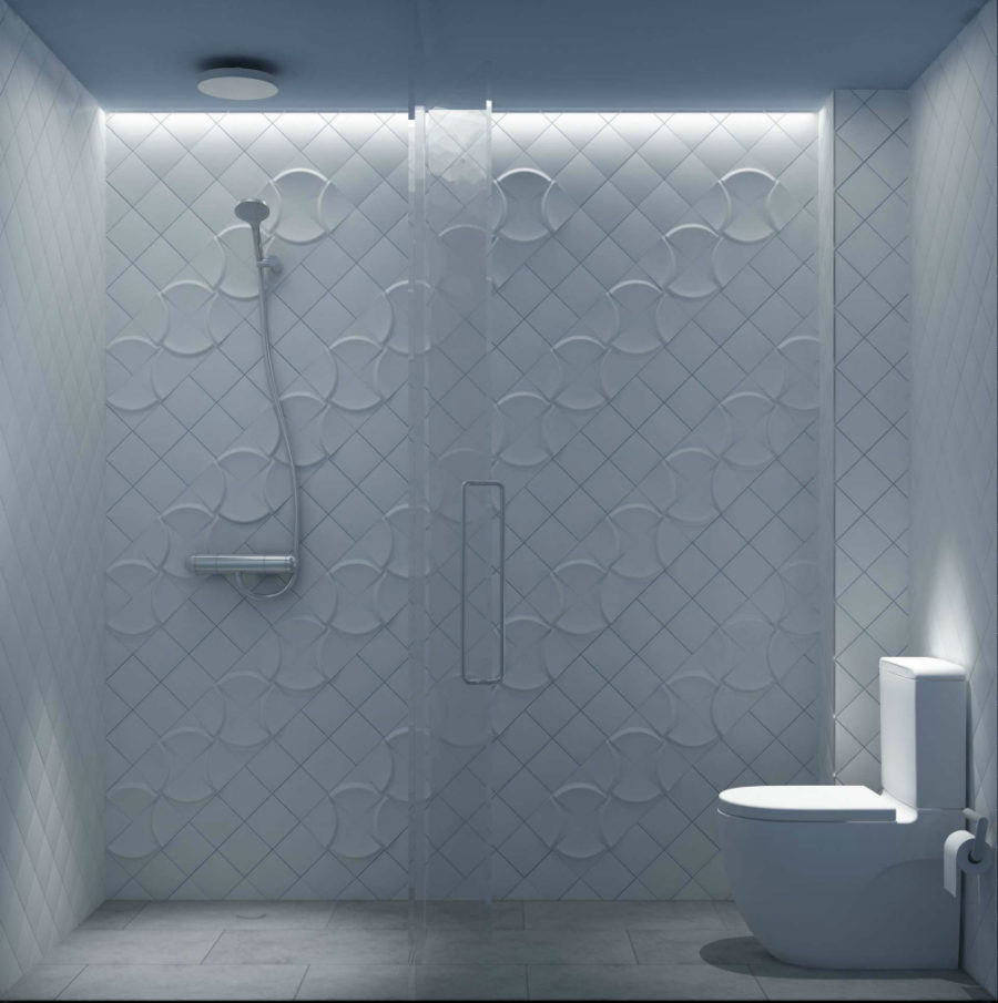3d bathroom tiles these modern bathroom tile designs will inspire the most 10040