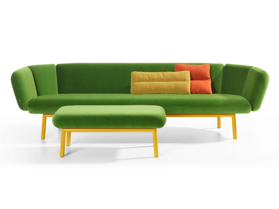 Bras sofa by Artifort 900x675 2017 Pantone Color of the Year in 35 Green Designs