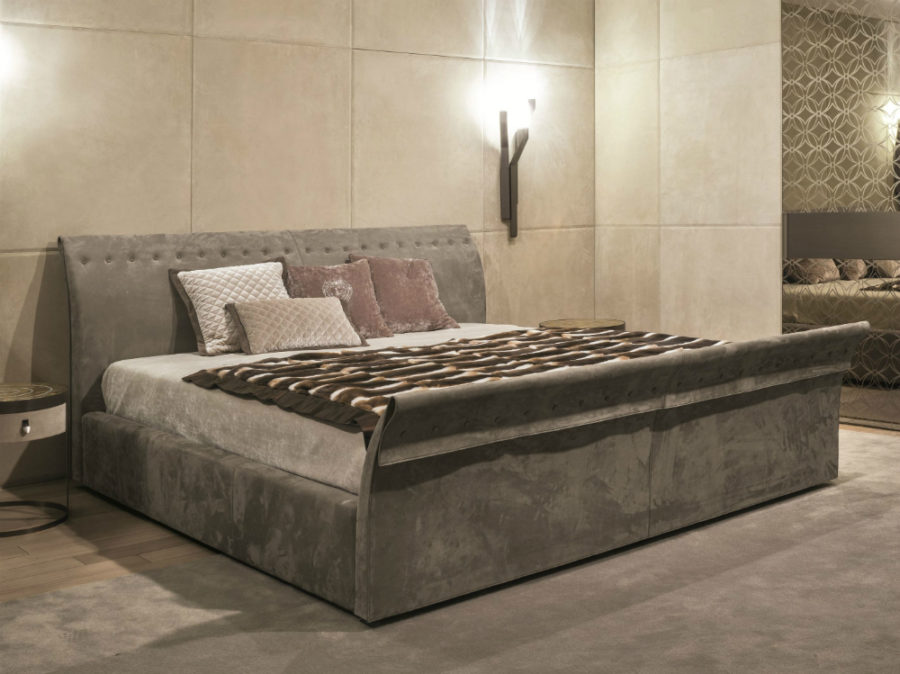 Charme bed by Fratelli Longhi