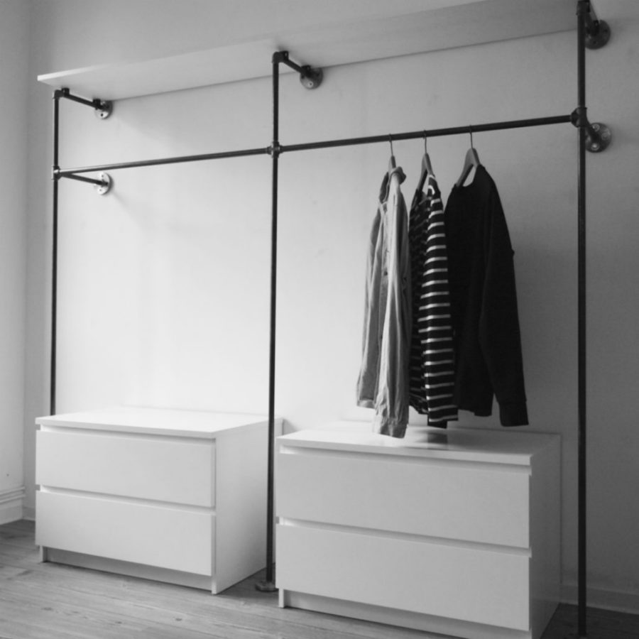 cool closet ideas for small spaces - Open Closet Ideas for Small Spaces
