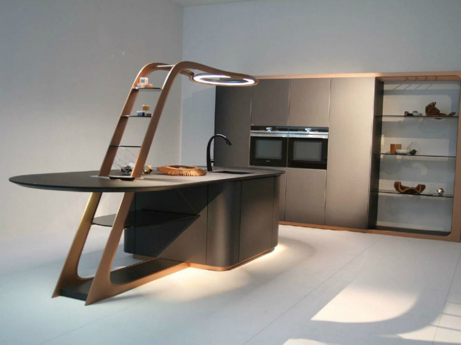 Contemporary Aria kitchen by Snadeiro 900x675 Contemporary Kitchen Furniture Designs Youll Love