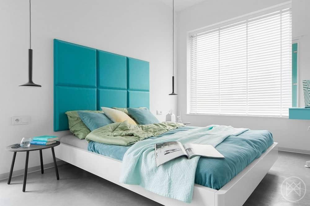 Contemporary bright bedroom by Widawscy Studio Architektury