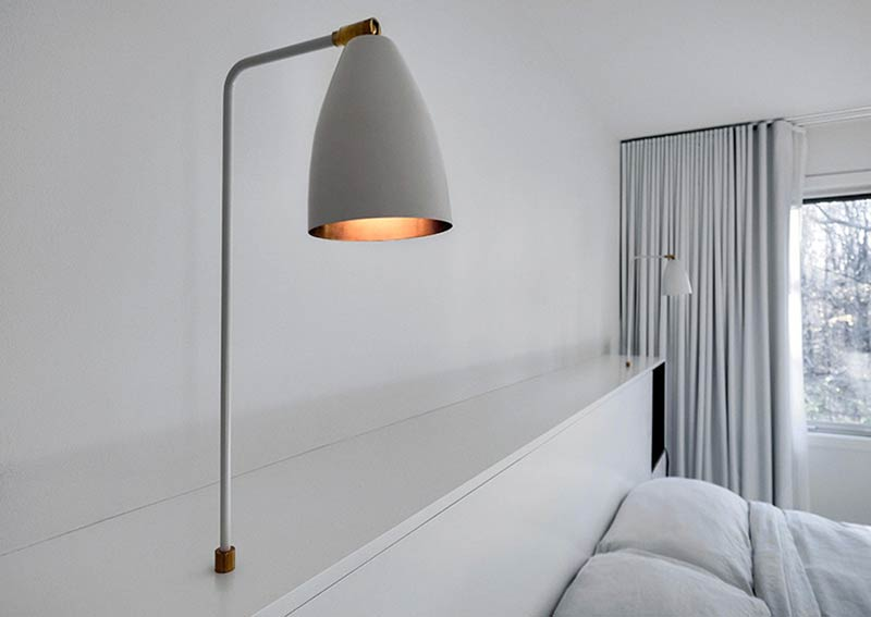 Contemporary home design by APPAREIL architecture Modern Night Lamps That Will Make Your Bedroom Shine in More Than One Way