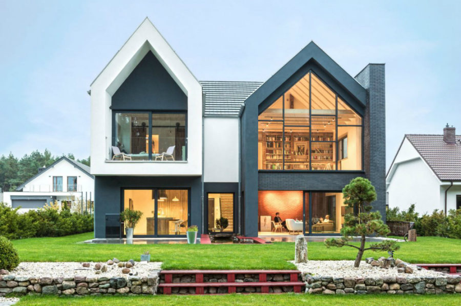 Contemporary home in Poland 900x599 Contemporary Family Home in Poland Will Give Your Ideas