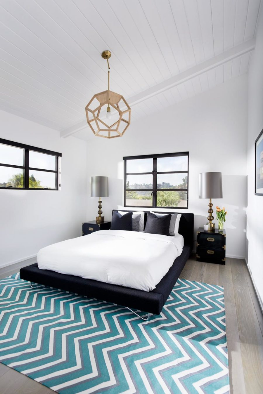 Contemporary modern bedroom by Brown Design Group
