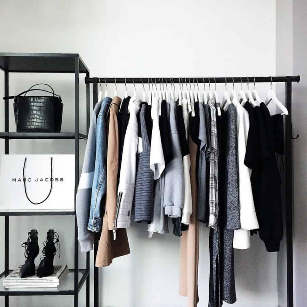 Cool clothing storage