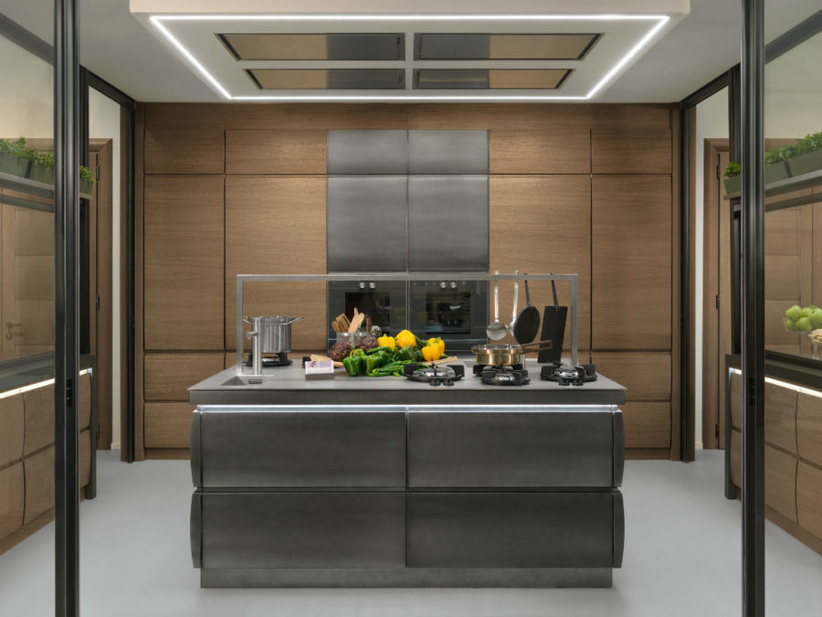 Cool kitchen design by L'Ottocento