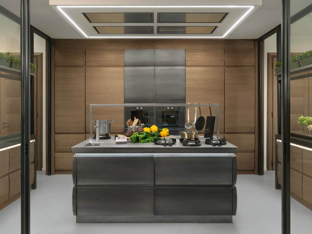 Cool kitchen design by L'Ottocento