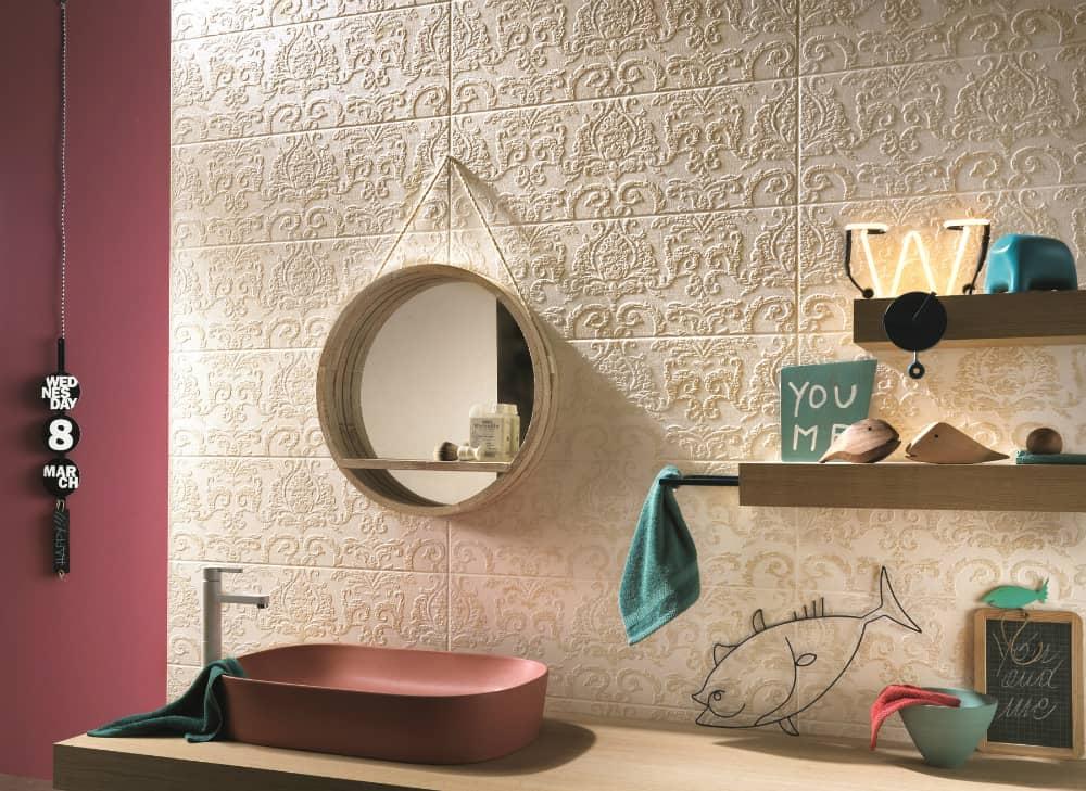 Couture Ivoire Arabesque by Impronta Ceramiche by Italgraniti Group
