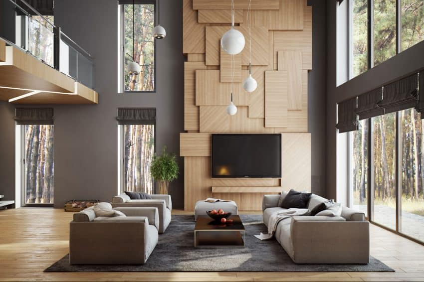 ... Creative TV Wall By Buro 108