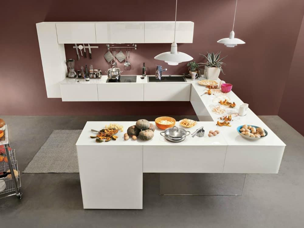 Creative kitchen design by Lago