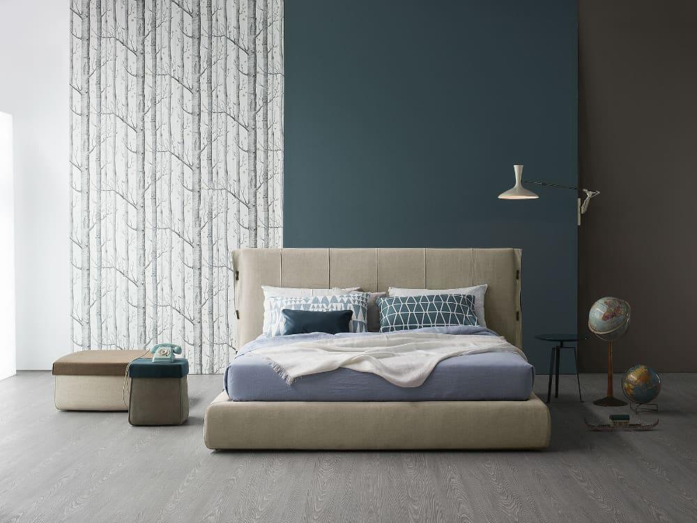 Cuff soft bed by Bonaldo