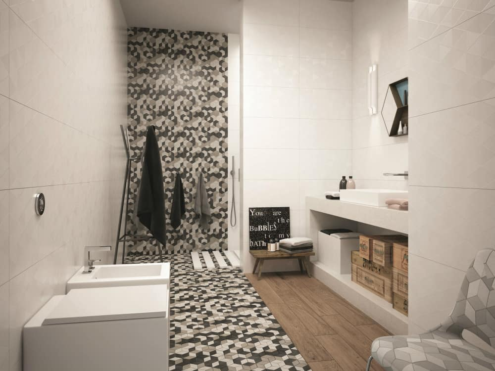 Different tiles by Cermiche Marca Corona