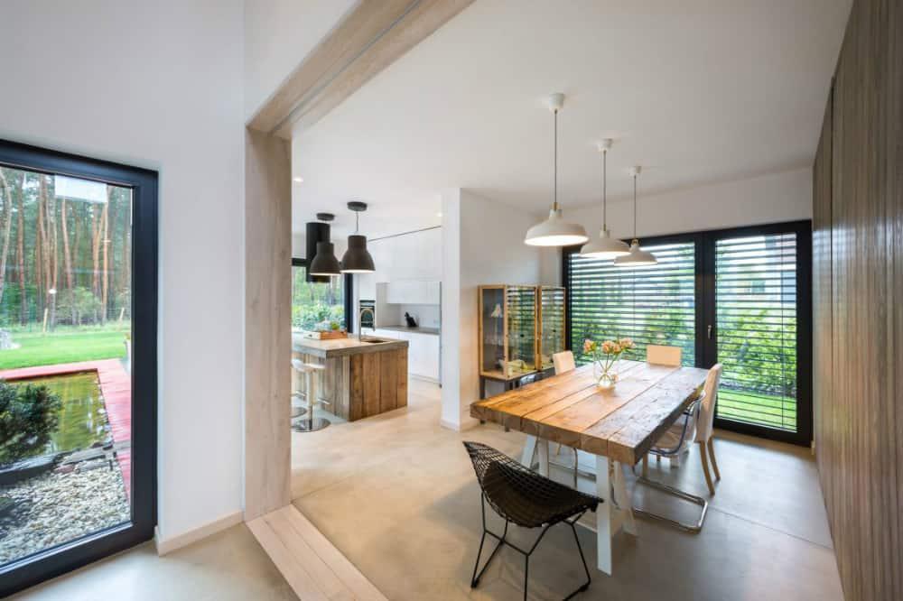 Dining room by mode lina architekci