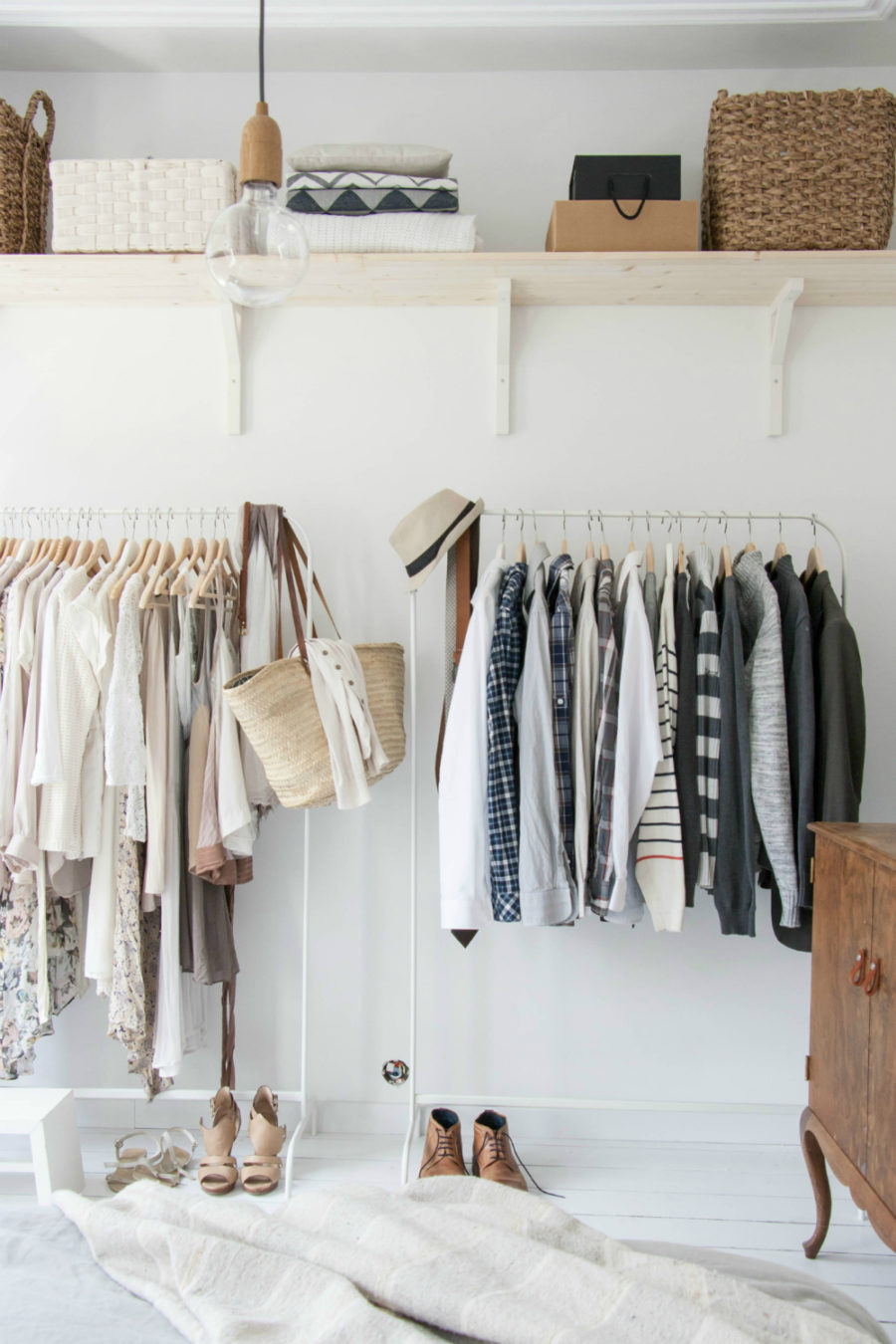 Clothing Rack Styling