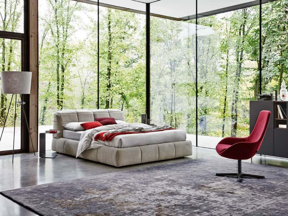 Dunn bed by Ditre Italia
