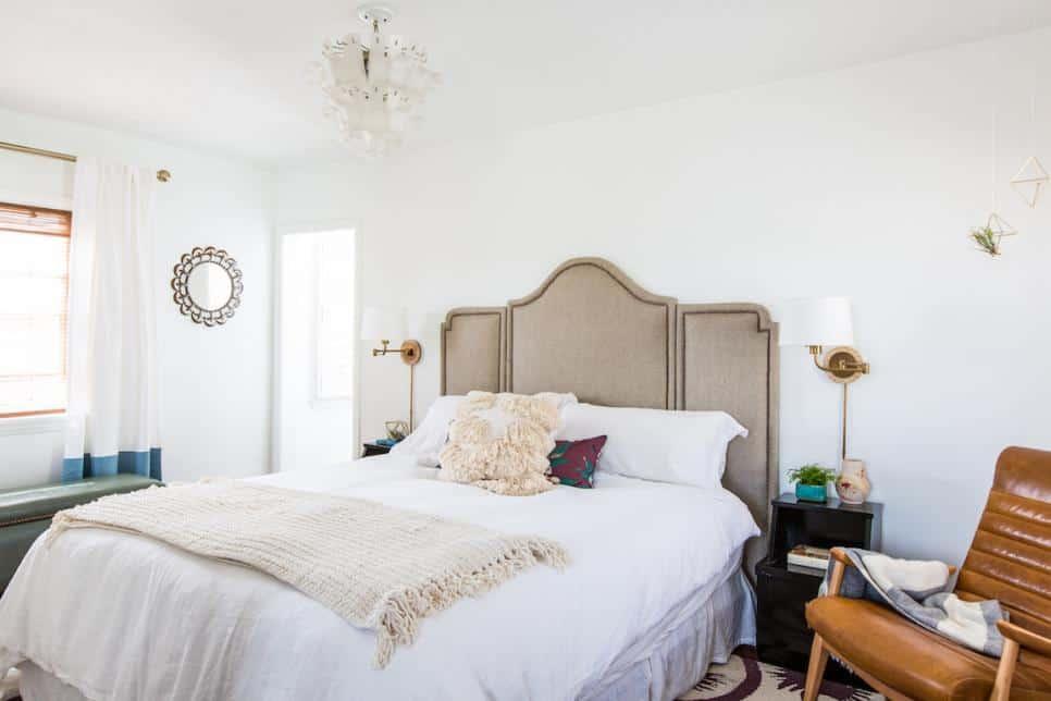 Feminine bedroom design by Susie HerrSusie Herr