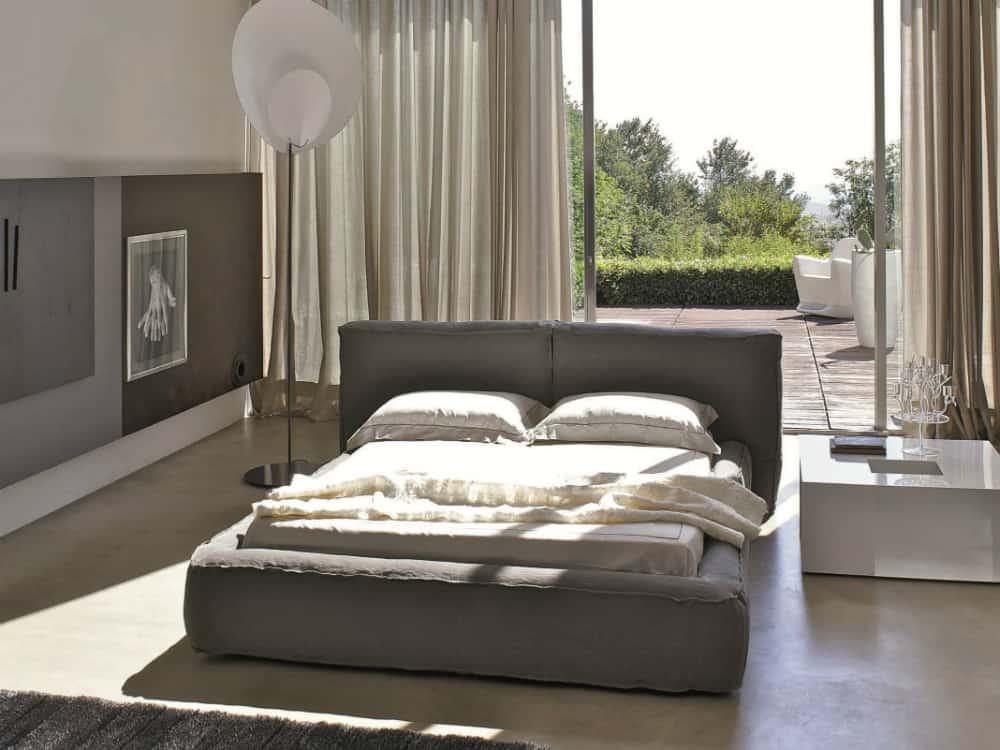 Fluff bed by Bonaldo