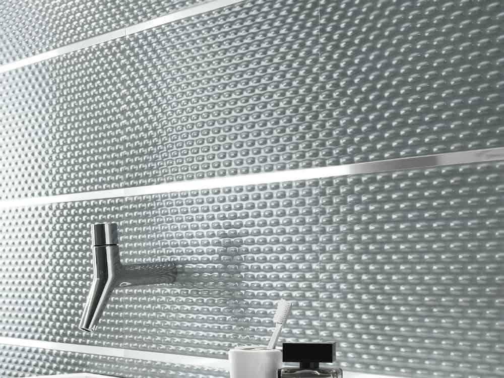 Frame textured tiles by FAP ceramiche