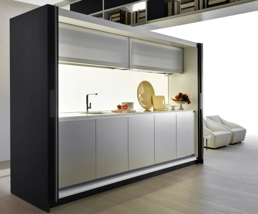 Freestanding kitchen Tivali by Dada