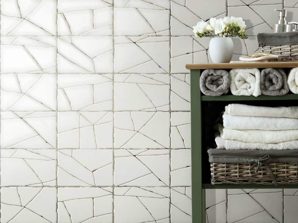 Glaze shattered tiles by Unica by Target group