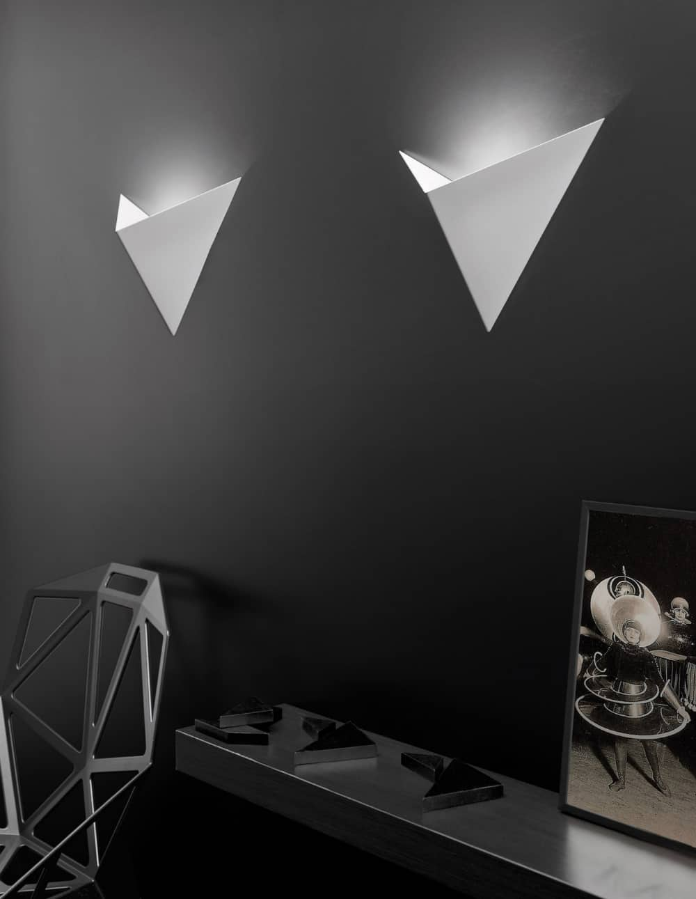 Halogen metal wall lights Vasily by Axo light