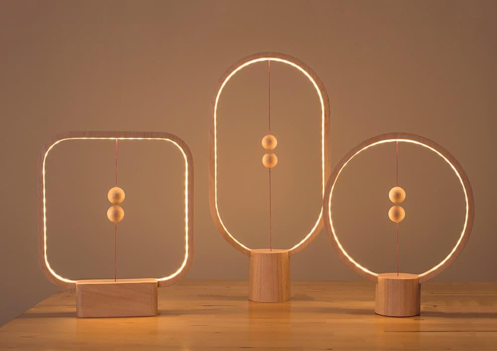 Heng Balance Lamp by Li Zanwen
