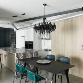 This Taipei Apartment is Deliciously Dramatic