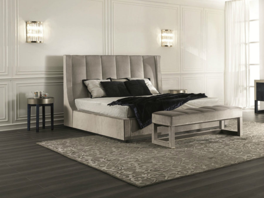 Tall Headboard Soft Bed