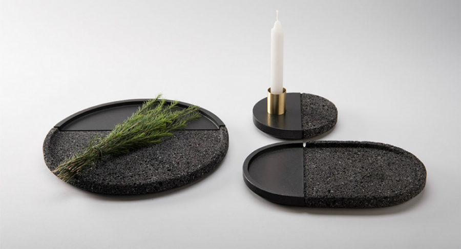 Lava plates by Peca 900x487 How To Decorate With Lava Stone