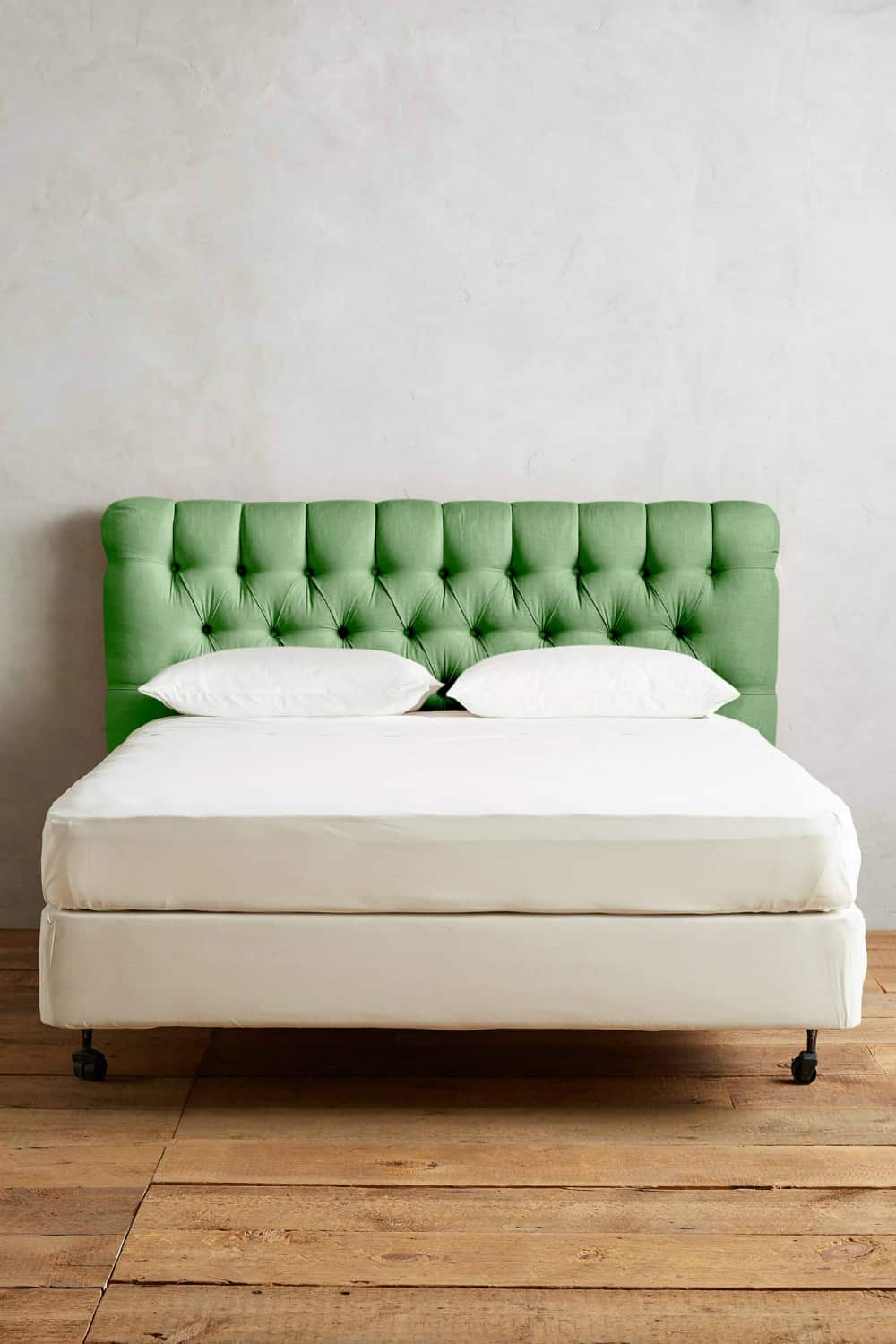 Linen Tufted Lena Headboard