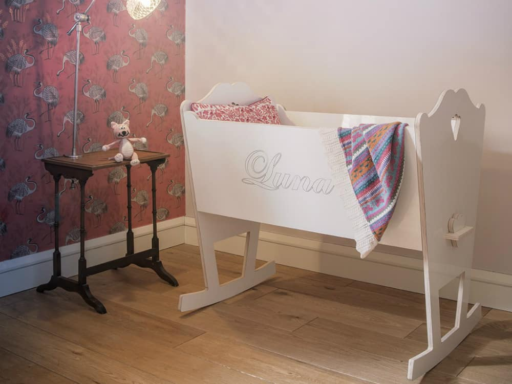 Luna crib by ST Furniture