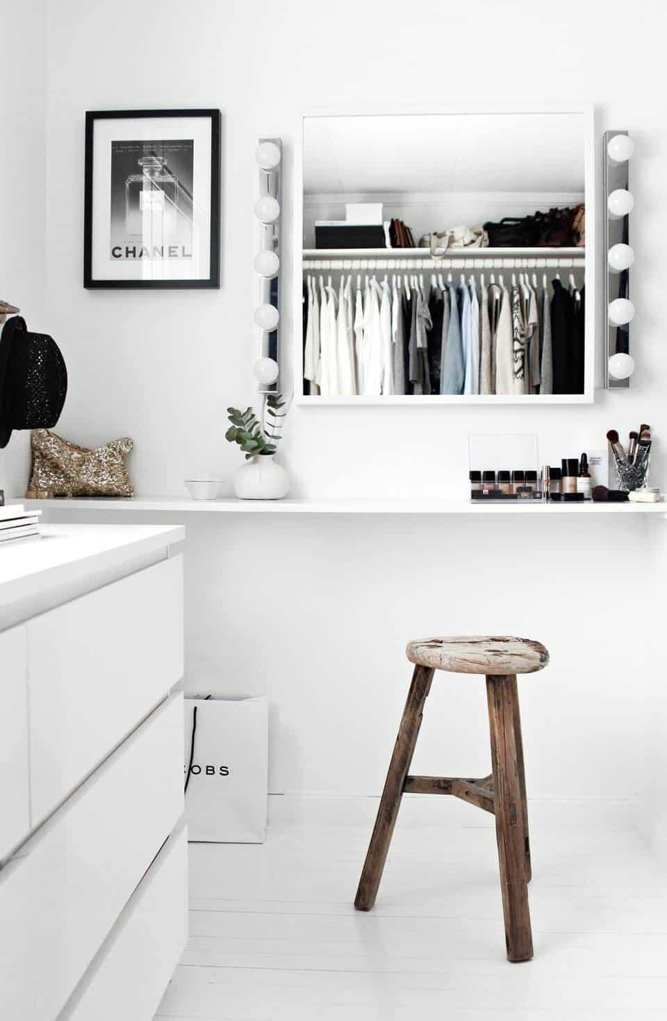 Modern dressing area