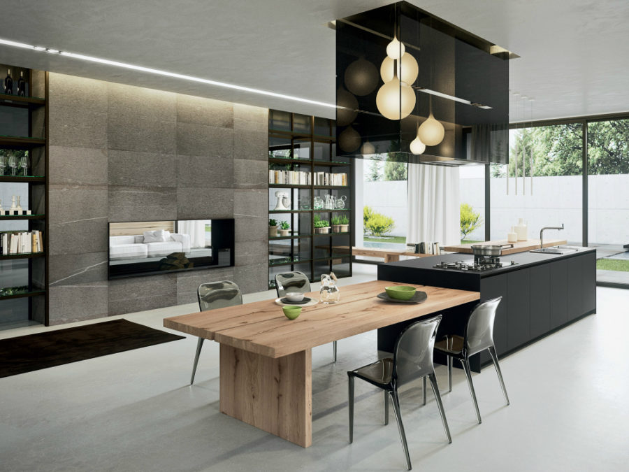 Modern kitchen by Bartolini Design