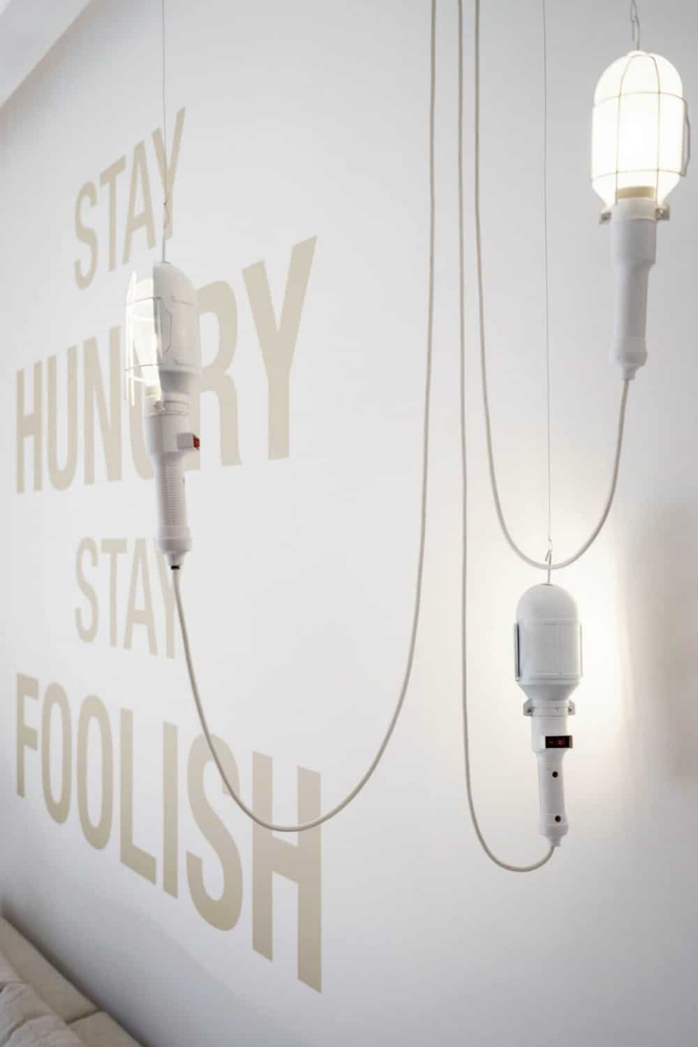 Modern lights brings about unqiue style