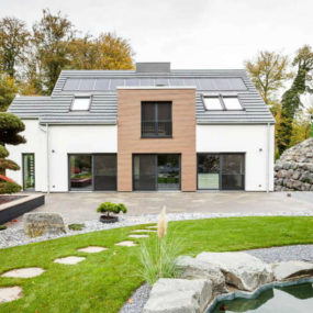 1947 German Home Gets a Modern Facelift and Extension