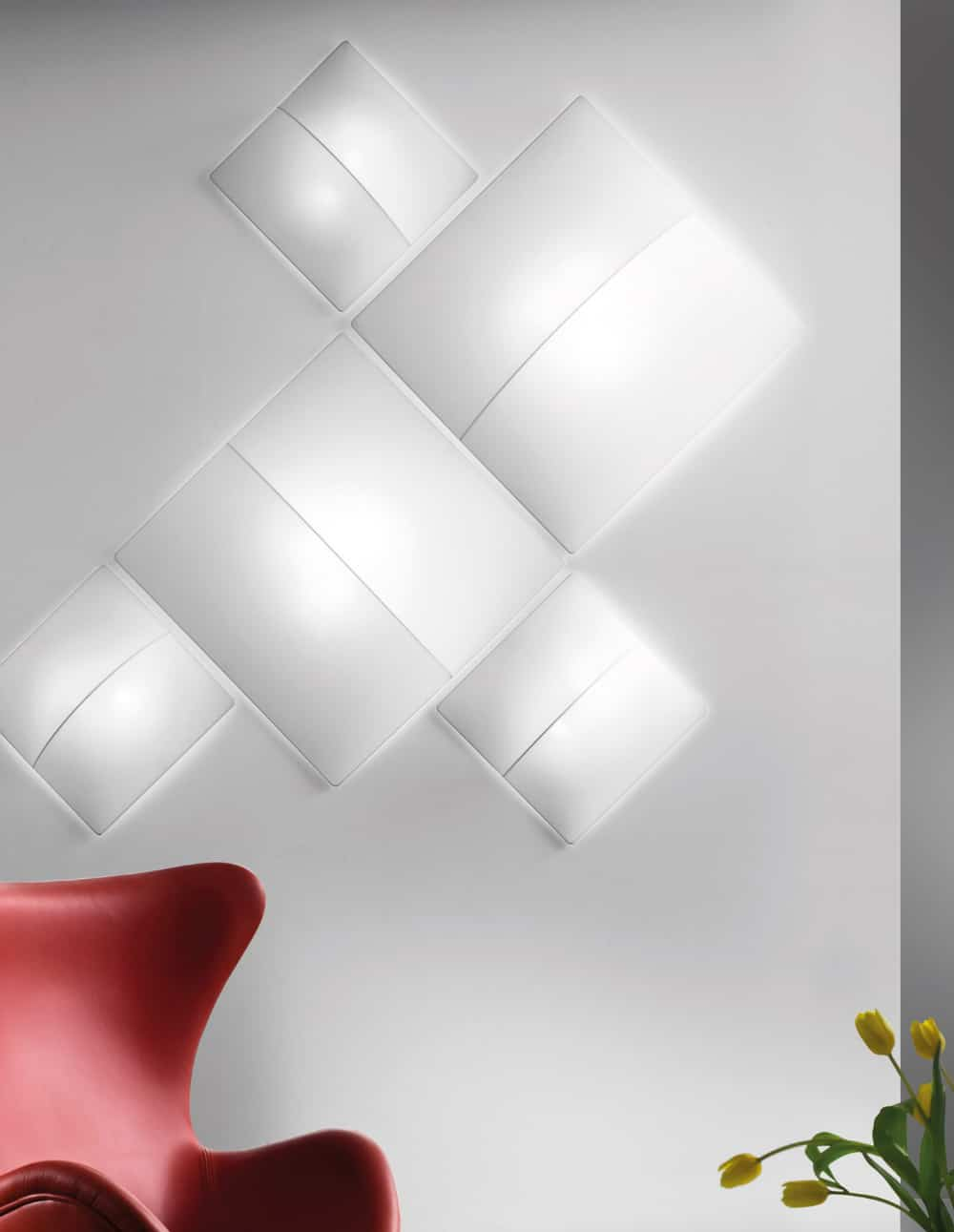 Nelly Straignt wall light by Axo Light