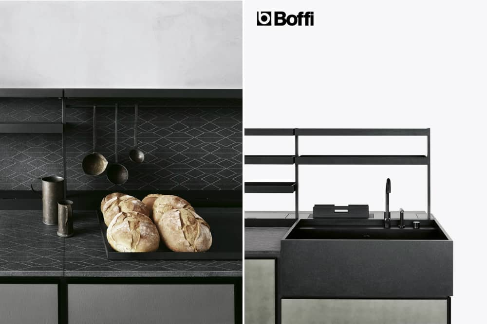 Nerosicilia kitchen by Patricia Urquiola for Boffi