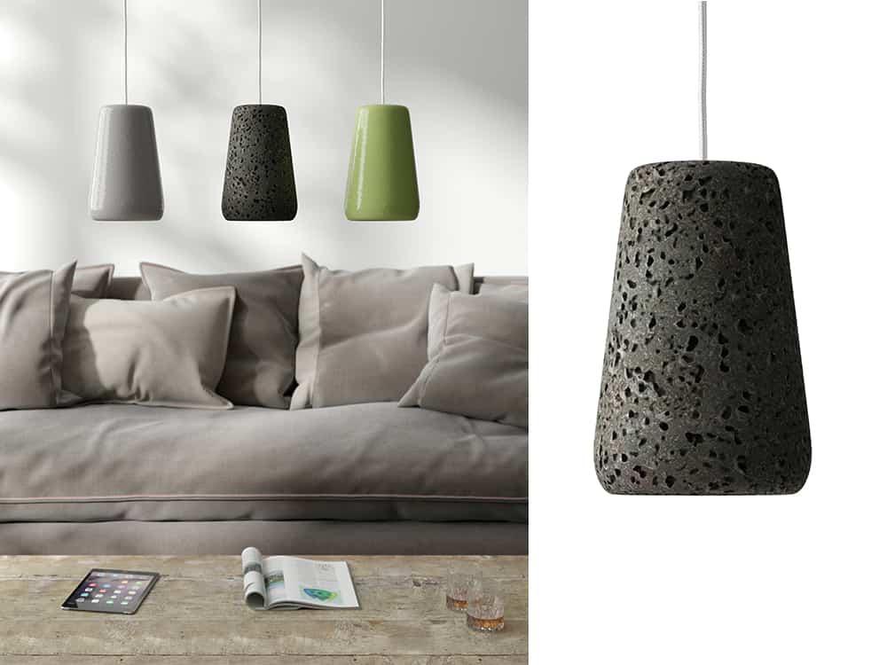 Ranieri lava stone lamp