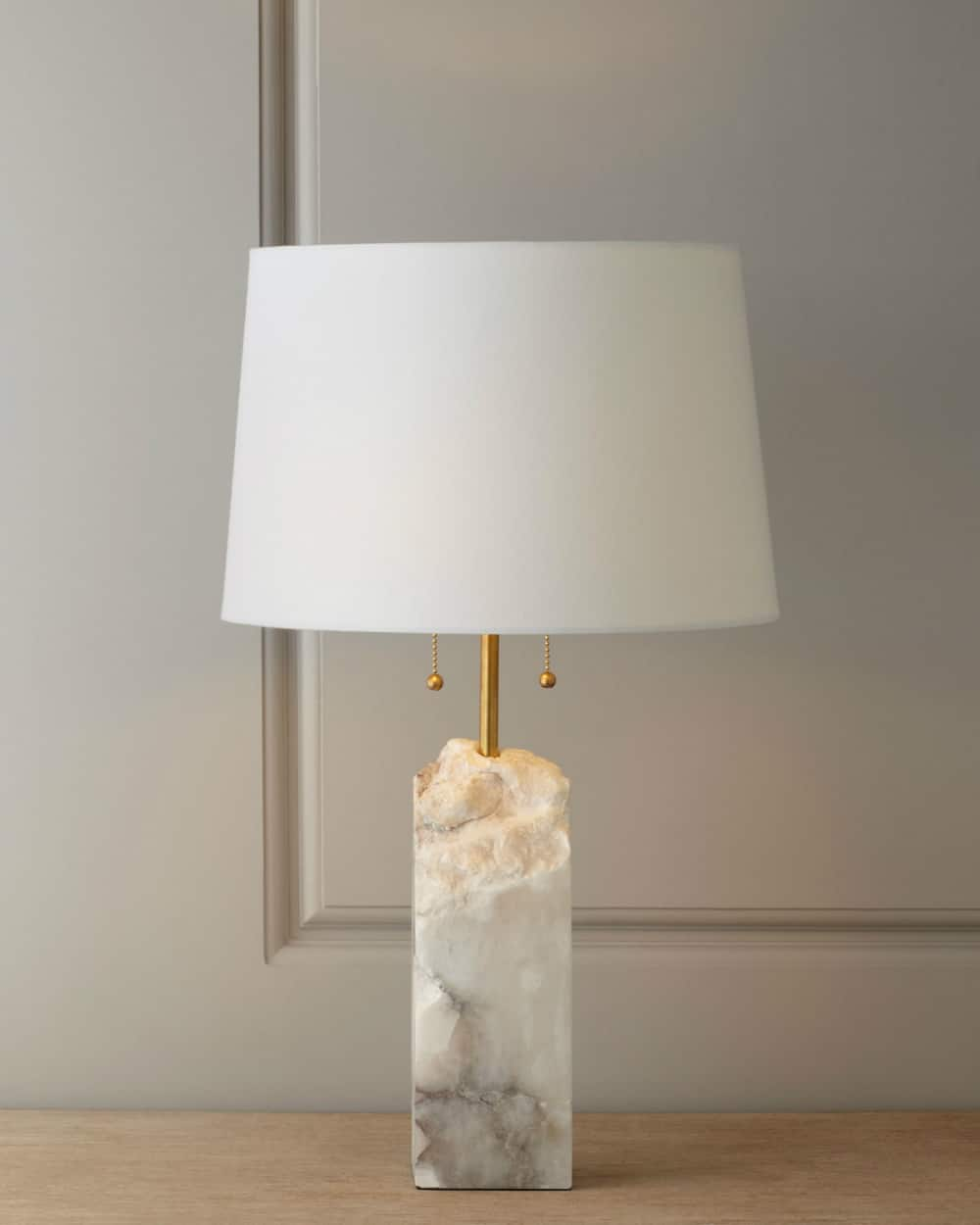 Raw Alabaster Lamp by Regina-Andrew Design