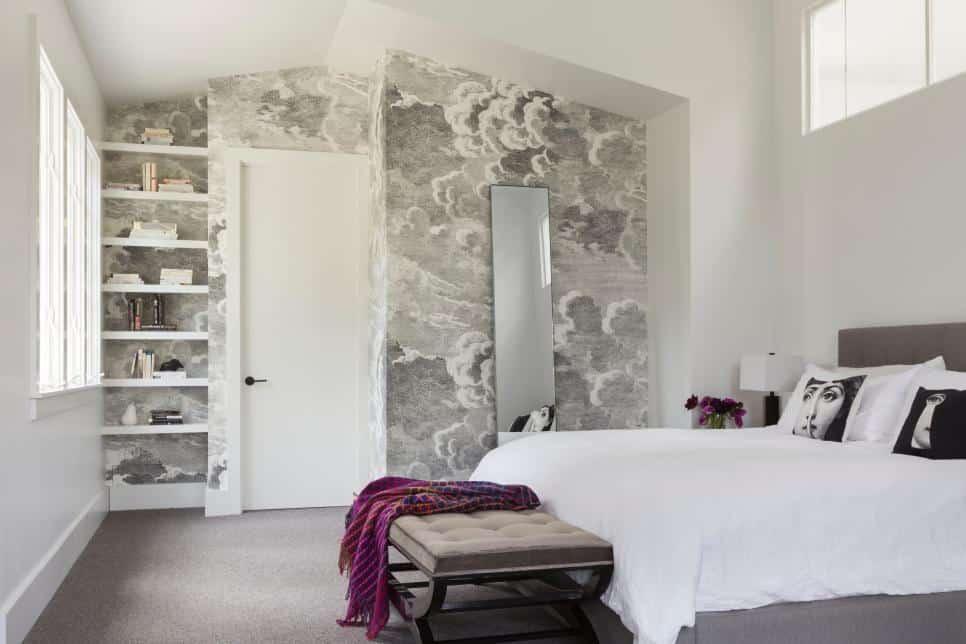 Romantic bedroom by Ann Lowengart