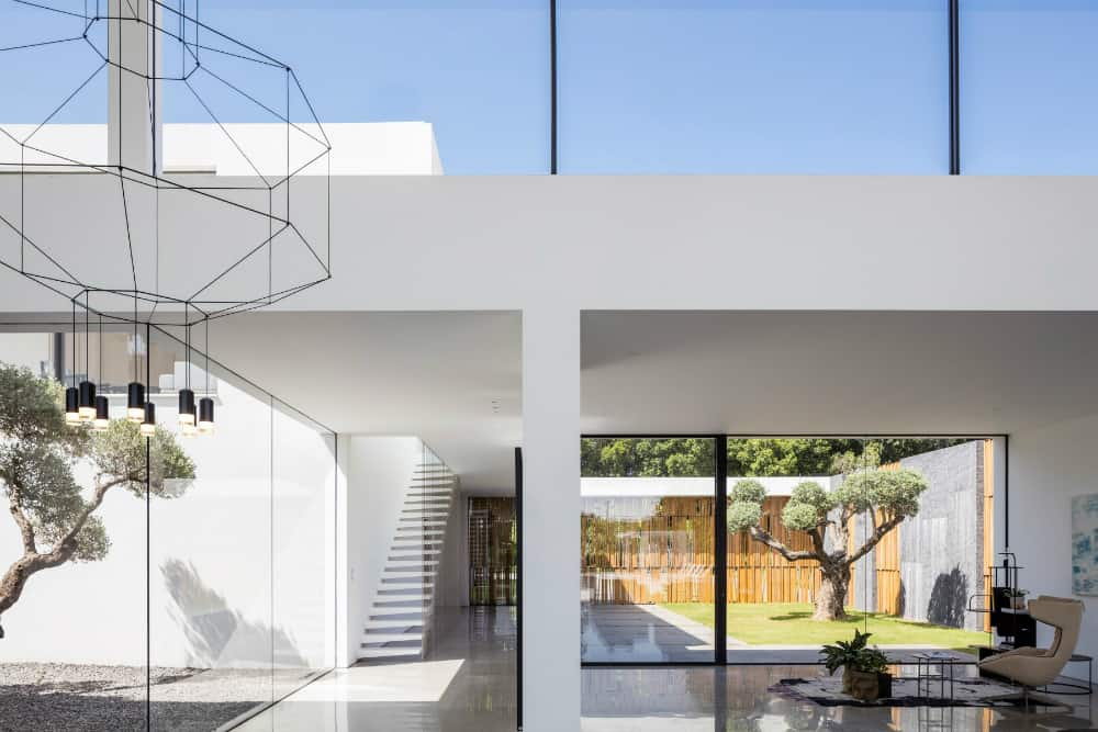 Second level windows allow more daylight into the house