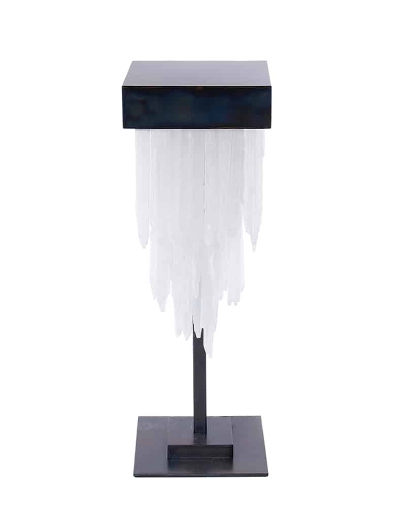 Selenite Night Lamp Square by Cravt Original