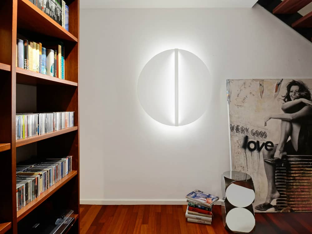 Shield Round wall light by millelumen