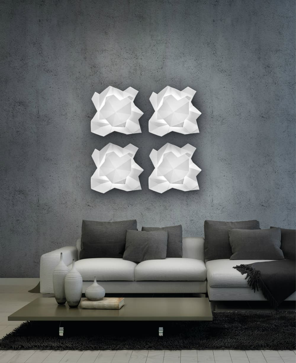 Sierra wall light by Metal Lux di Baccega R.&C.