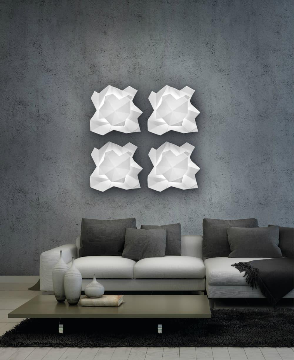 Sierra wall light by Metal Lux di Baccega R.&C.