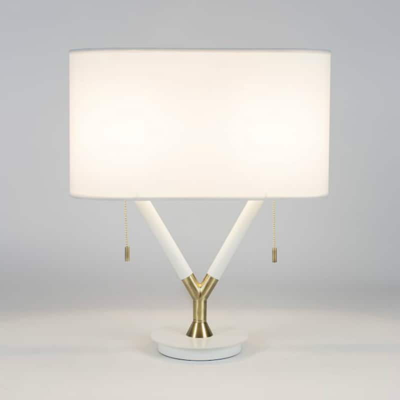 Split Deco Table Lamp via West Elm