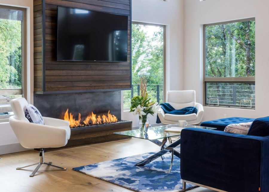 Attirant View In Gallery TV Wall And Fireplace By Jordan Iverson