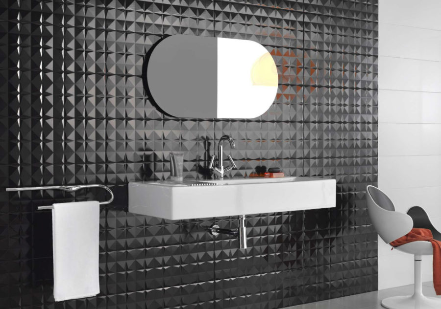 Modern Bathroom Tile Designs In 3D Part 84