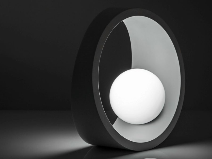 Tenue LED aluminium table lamp by Ilide